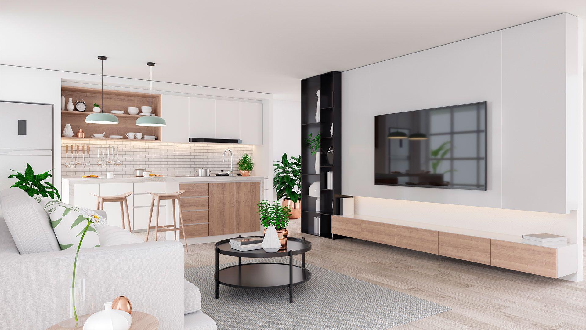 Cocina diseñada e instalada por Soinco en una promoción inmobiliaria